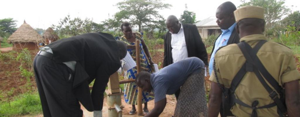 Monitoring of boreholes rehabilitated